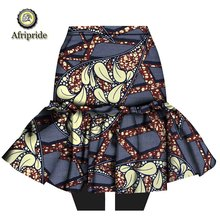 2019 african skirt for women AFRIPRIDE bazin riche ankara print dashiki  traditional women skirt 100% pure cotton S1827001 african dresses for women 100% cotton new arrival women s print dashiki dress stunning elegant