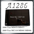 15'' Original New 15Inch For Apple Macbook Pro A1286 LCD Assembly 2008 2009 Year Replacement