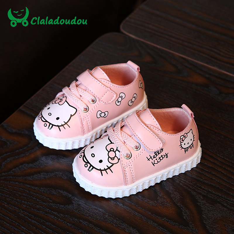 Claladoudou 2017 0 2Y Baby Shoes Soft Sole Toddler Walking