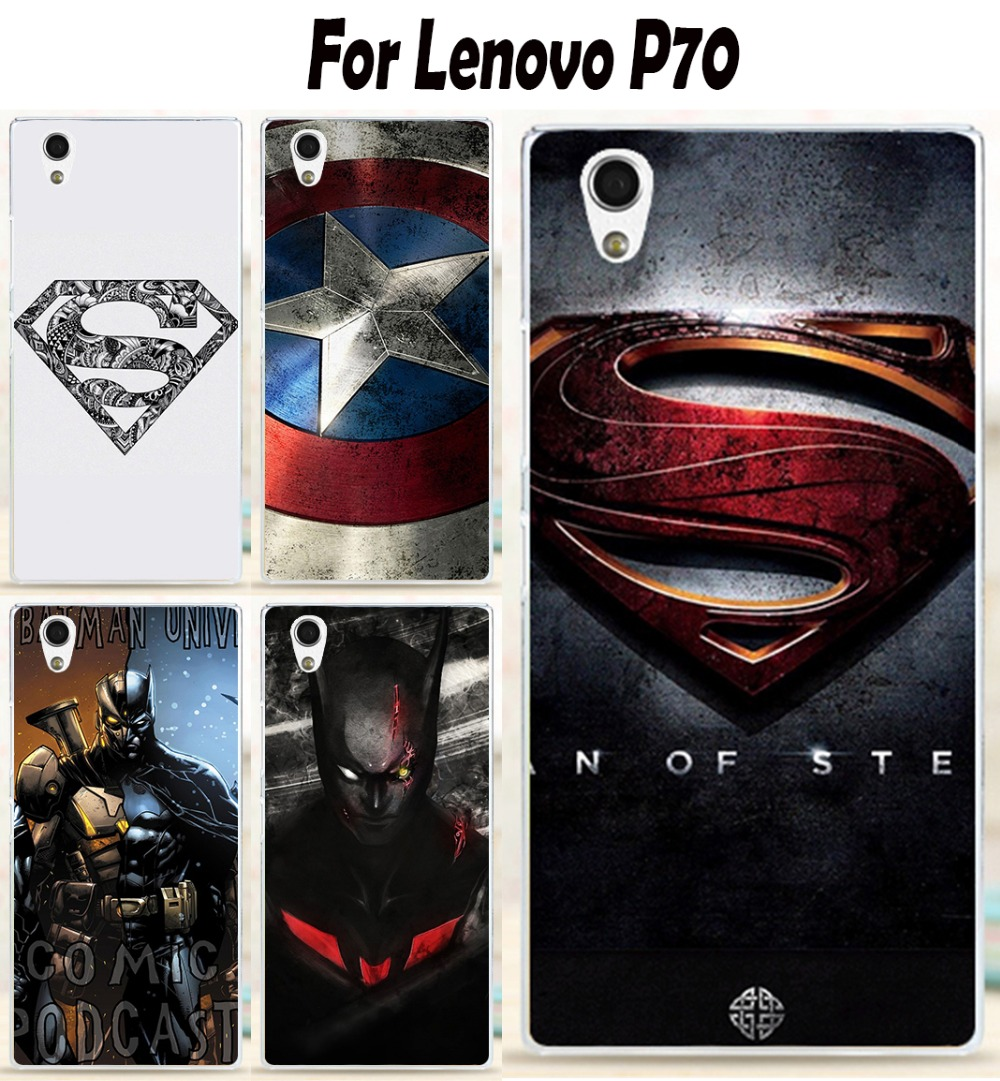 Galleria fotografica Soft TPU Phone Cases For Lenovo P70 P70A P70-A P70T P 70 5.0 inch Hero Back <font><b>Cover</b></font> Hard Plastic Skin Shell Housings Sheaths Bags