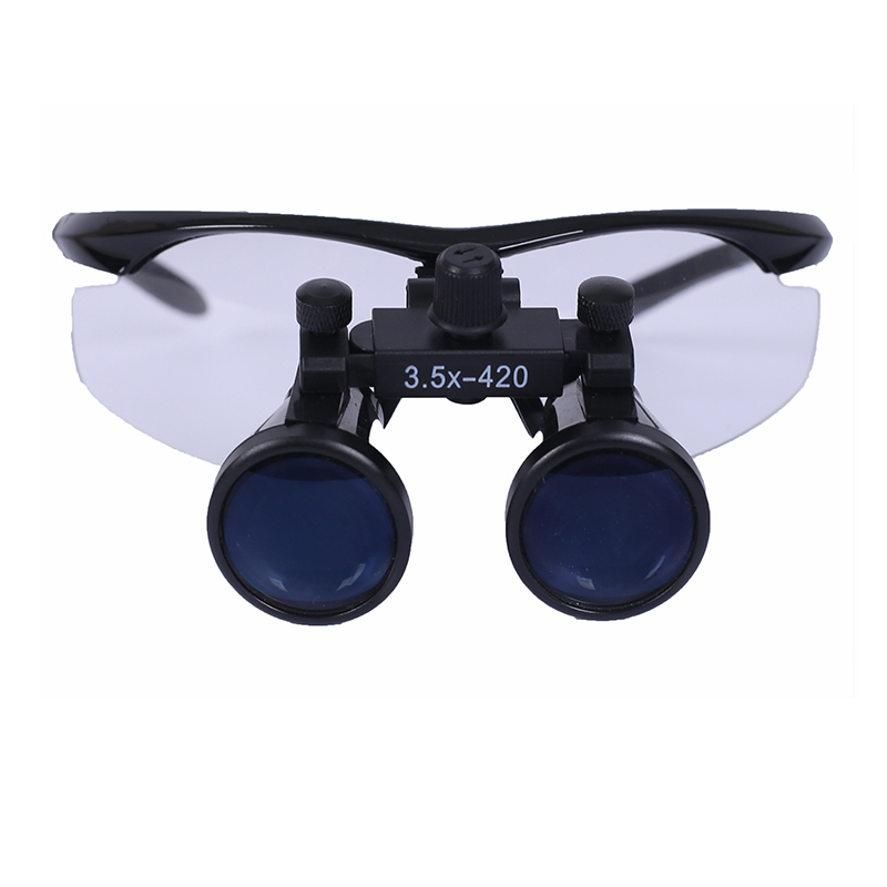 Dentist surgery dental orthopedic surgery Glasses type medical magnifier 3.5X 420mm YDentist surgery dental orthopedic surgery Glasses type medical magnifier 3.5X 420mm Y