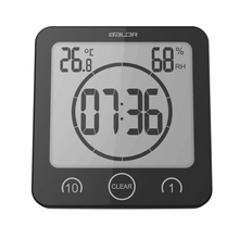 Cheapest prices Digital LCD Large Screen Thermometer Hygrometer Timer Wall Clock Alarm Suction