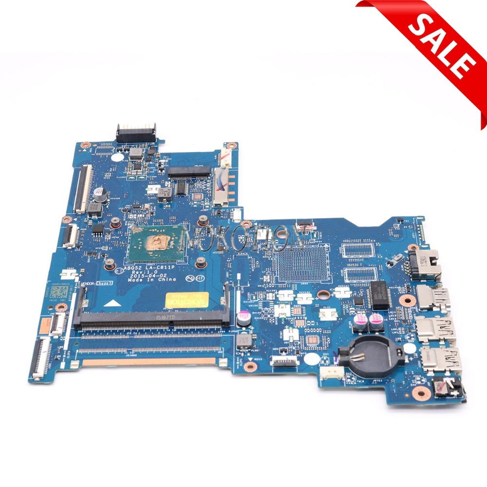 NOKOTION 815248-501 815248-001 Laptop Motherboard for HP 15-AC Main board ABQ52 LA-C811P full test