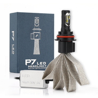 2PCS Car Bulbs Led Headlight Kits 60W 9600LM 6000K Philips Chip Auto Headlamps SUV Fog Lamps
