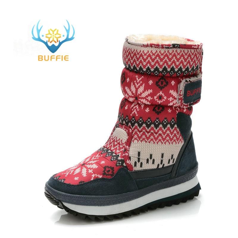 Womens horké prodávají boty teplé boty módní kožené boty - Dámské boty