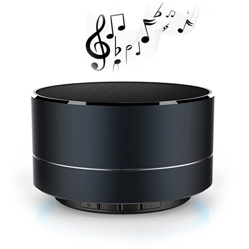 A10 Bluetooth Speaker Bass Mini Portable Speaker Subwoofer Sound with Mic Support TF Car ...