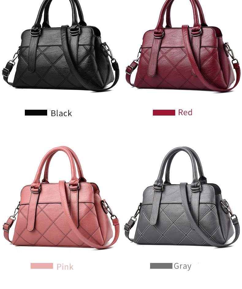 Women Bag 2019 New Women Messenger Bags Fashion Pu Leather Shoulder Bags Handbags Famous Brands, Big Crossbody Bags For Women 21