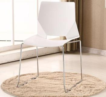 цена на Chair simple modern plastic dining chair home restaurant creative outdoor leisure reception to discuss Nordic fashion chair .