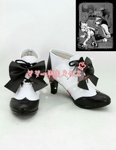 أسود بتلر تأثيري أحذية سيل Phantomhive أنيمي حزب الأحذية خياط الصنع
