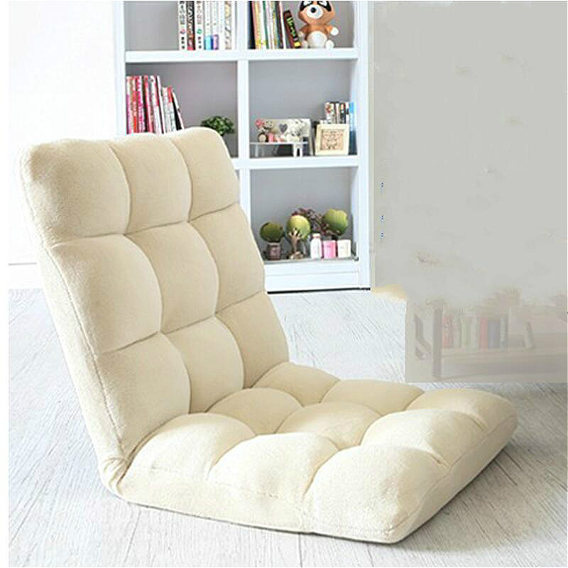 High quality creative lounger tatami single folding chair bed computer chair sofa chair the silver chair