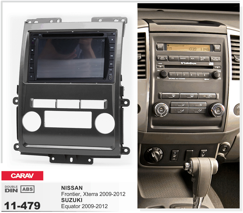 Navirider Android 8.0 Radio Tape Recorder Octa Core 4GB RAM 32GB Rom (frame+DVD Series) Fit For Nissan Frontier Xterra 2009-2012