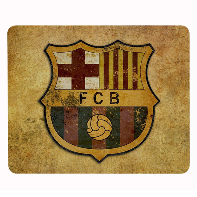 Customized Luxury Printing FC Barcelona Football heroes mouse pad Mat Gaming Durable Optical Non Slip PC Mouse Pad