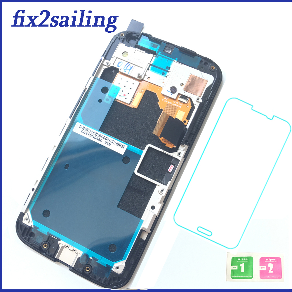 New 100% Working LCD Display Touch Screen Digitizer Frame Assembly Replacement For Motorola Moto X XT1052 XT1053 XT1056 XT1058New 100% Working LCD Display Touch Screen Digitizer Frame Assembly Replacement For Motorola Moto X XT1052 XT1053 XT1056 XT1058
