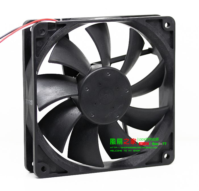 NEW NMB-MAT Minebea 4710KL-04W-B59 12V 0.72A 125 Double Ball bearing 12CM cooling fan