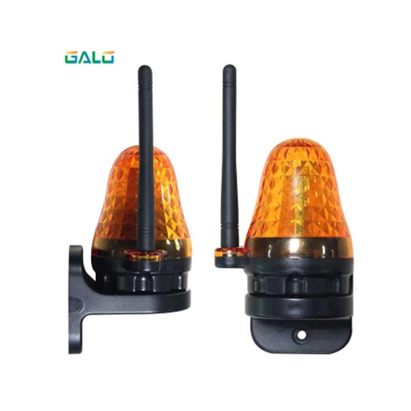 Automatic Door Antenna Signal Light Flashing Warning Light Waterproof Indicator Light LED Light Small Flashlight 12V -265V LED