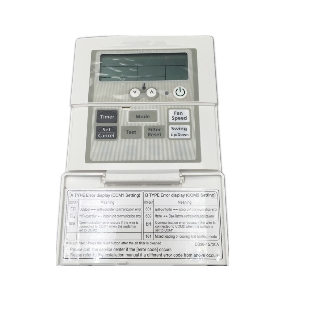 Pad Type Wall Remote Control Air Conditioner DB98 15730A Use For
