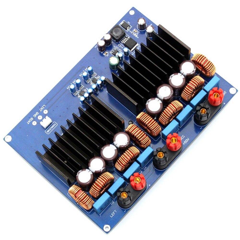 TAS5630 + OPA1632DR 1200W DC48V 2.0 Channel Class D Digital Amplifier Board YJ Completed board AMP AssembledTAS5630 + OPA1632DR 1200W DC48V 2.0 Channel Class D Digital Amplifier Board YJ Completed board AMP Assembled