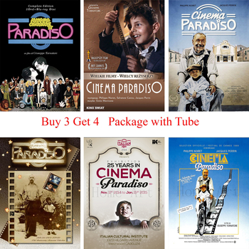 Nuovo Cinema Paradiso Poster Clear Image Wall Stickers Home Decoration High Quality Prints White Coated Paper home art Brand image