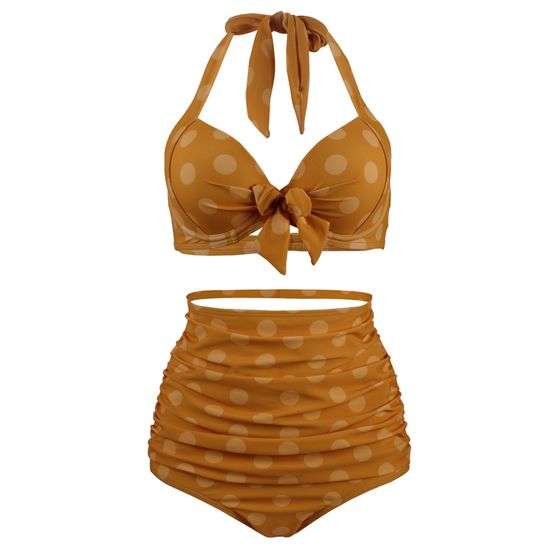 Bath Suit 2 Pieces Plus size Women Swimwear 2019 Swimsuit Sexy Bikini Set High Waist Brazilian Swim Maillot De Bain Femme