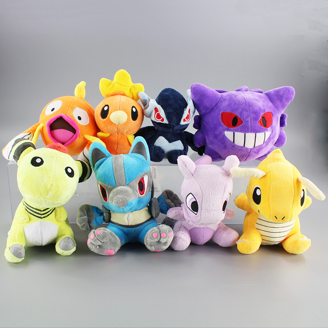 8style High Quality Anime Mewtwo Ampharos Lugia Torchic Gengar