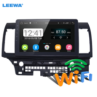 LEEWA 10inch Bigger HD Screen Android 6.0 Car Media Player With GPS Navi Radio For Mitsubishi Lancer EX(2007 present CY2A CZ4A)