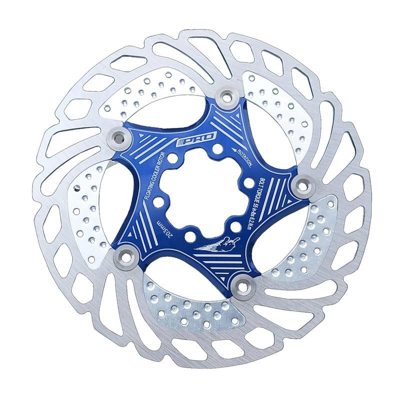 203mm Bicycle Brake Six Nail Disc MTB Mountain Bike Cooling Brake Rotors Bicycle Accessories With Retail