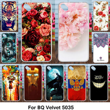 AKABEILA Ultra Thin TPU Cover Cases For BQ 5035 Velvet Silicone Case Cover For BQ Velvet 5035 BQ-5035 Velvet Cases