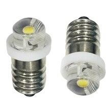 Bulbs LED Led-Upgrade-Bulb Emergency-Light E10 Signal-Lamp Indicator 6V 3V Warning 2X