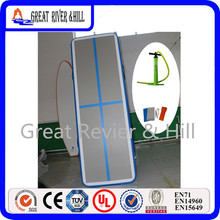 New popular Inflatable air track mats 3m x1m x10cm with free hand pump