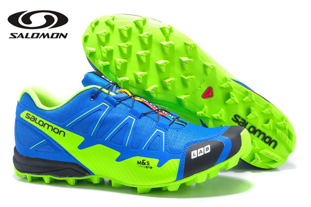 Free Salomon 4 Shipping Man Shoes Breathable Outdoor Cross CS Speed CoxedB