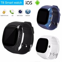 Купить с кэшбэком Smart Watch Bluetooth Smartwatch Relogio TF SIM Card Camera for iPhone Samsung
