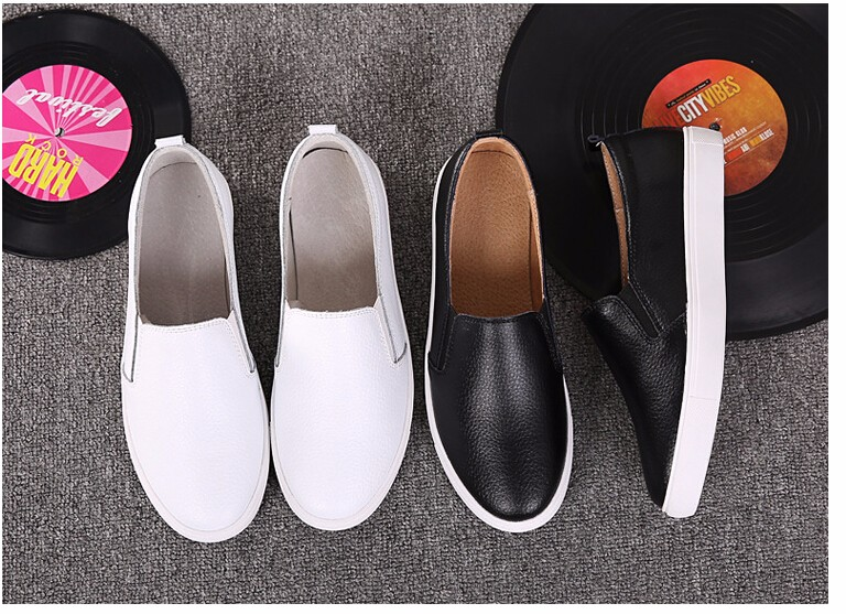 Free Shipping Spring and Autumn Men Canvas Shoes High Quality Fashion Casual Shoes Low Top Brand Single Shoes Thick Sole 7583 -  -  (4) -  -