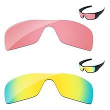 d4852fd80357d 24 K de oro y rosa de cristal de 2 piezas de reemplazo de lentes para  Batwolf gafas de sol marco 100% UVA y UVB protección