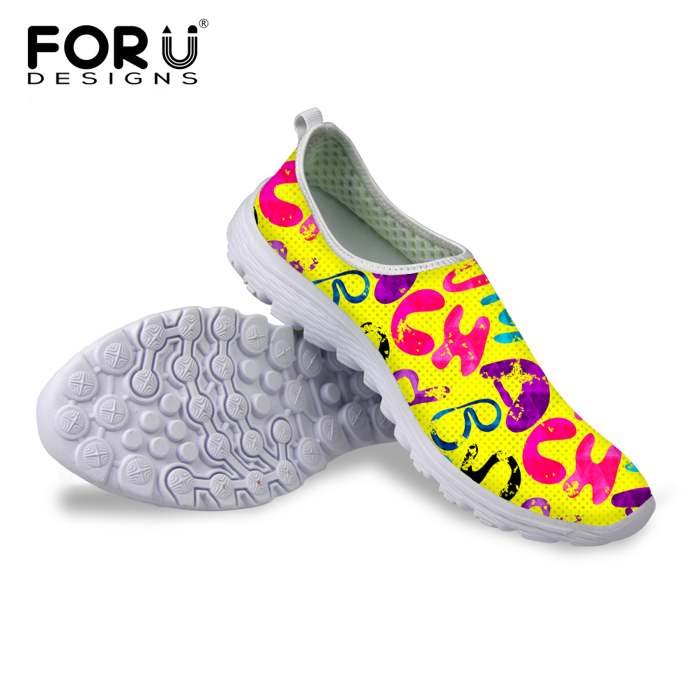 c8f4d58deedd7 FORUDESIGNS العلامة التجارية الربيع الصيف شبكة الأحذية للرجال تنفس الذكور  شقة أحذية لوفر ضوء عاشق الانزلاق على الرجال أحذية مشي