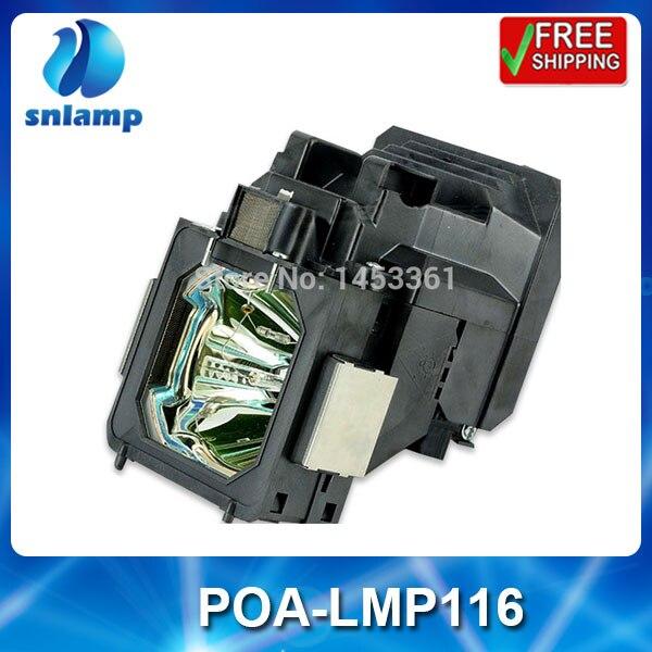 Replacement projector bulb lamp with housing POA-LMP116 610-335-8093 for PLC-XT35 PLC-ET30L PLC-XT35L compatible projector lamp sanyo poa lmp116 610 335 8093 plc xt35 plc xt35l plc et30l plc xt3500