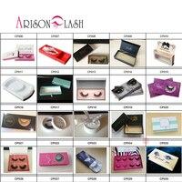 Ресницы Arison, упаковка на заказ, низкая цена и высокое качество, ресницы для макияжа