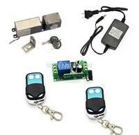 Hohe Qualität 600lbs Schublade Elektronische Gehäuseschloss Mini Elektrische Riegelschloss mit Notschlüssel + Fernschalter-in Zugangs Control Kits aus Sicherheit und Schutz bei