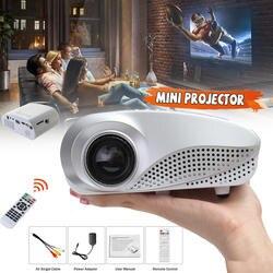 GIGXON H600 мультимедиа 1200 люмен Портативный ЖК-дисплей светодиодный офиса и Проектор для домашнего кинотеатра для дома Театр
