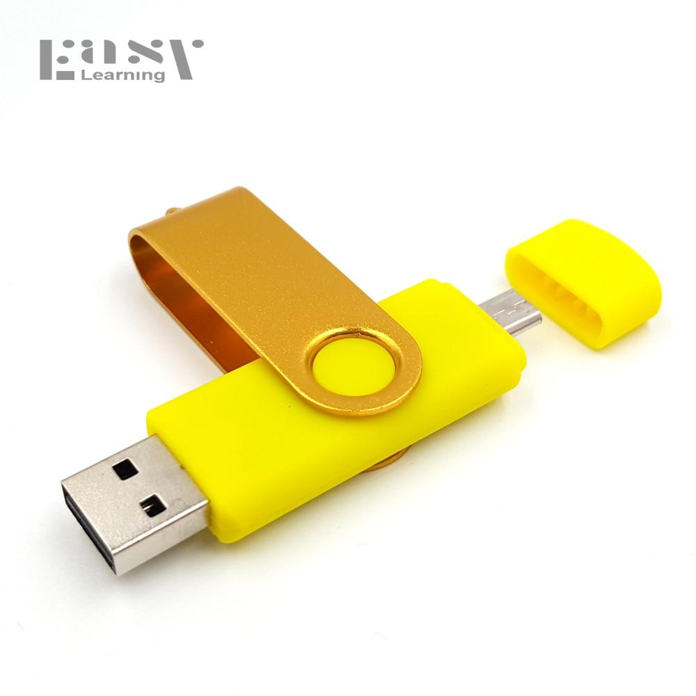 Fast speed Brand Easy Lear OTG 64gb usb flash drive for Android Smart Phone pen drive 32gb 16gb 8gb USB Stick 4gb pendrive