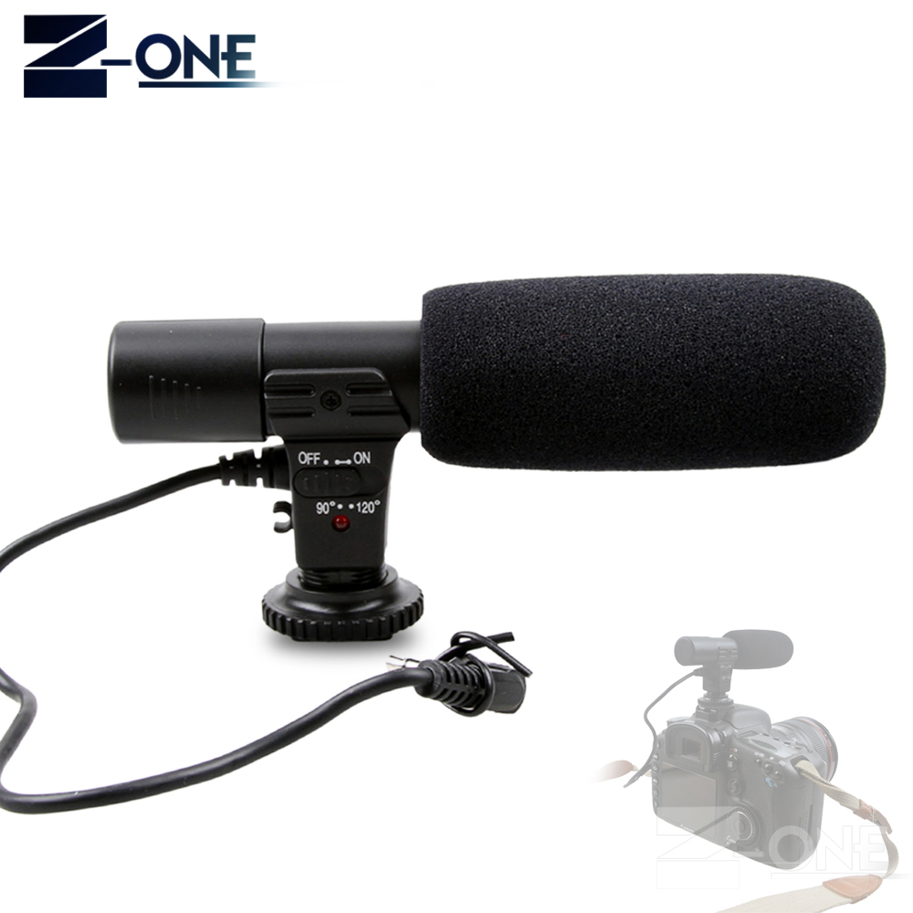 Mic-01 Professional  Condenser Camera Microphone For Canon EOS M2 M3 M5 M6 800D 760D 750D 77D 80D 5Ds R 7D 6D 5D Mark IV