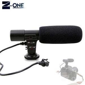 Image 1 - Mic 01 microfone profissional da câmera do condensador para canon eos m2 m3 m5 m6 800d fr 750d 77d 80d 5ds r 7d 6d 5d marca iv