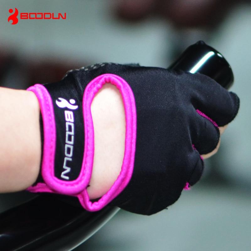 BOODUN Women s Men s Fitness Training font b Gloves b font Best Quality Half Finger