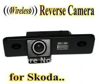 Wireless Car Rear View Camera reverse backup parking camera for SKODA ROOMSTER OCTAVIA TOUR FABIA bigbigroad car trunk handle rear view backup reverse camera for skoda roomster fabia octavia 5e mk2 yeti superb audi a1