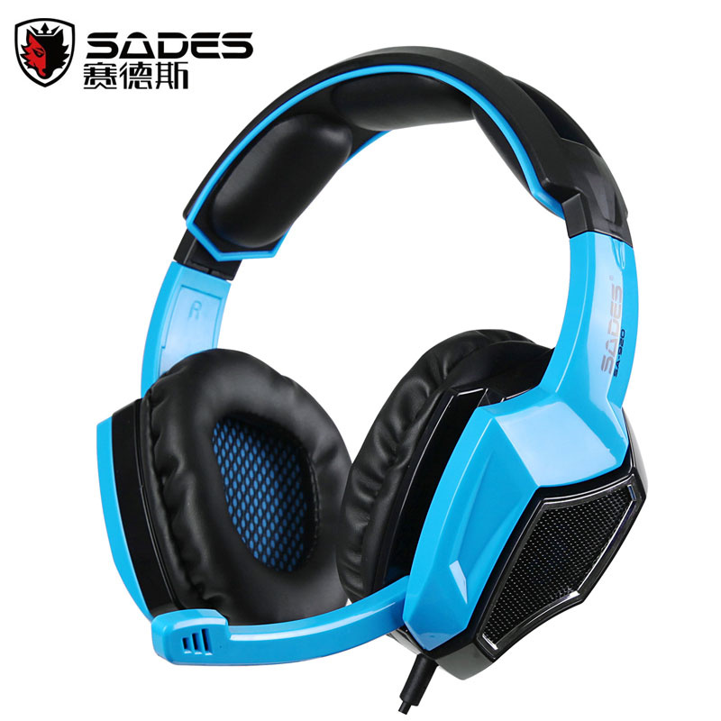 SADES SA920 3 in 1 Gaming Headset 7.1 Surround Sound 3.5MM Olug Cable Effect Game Headphones with Mic for PC PS4 XBOX 360 3 in 1 sades sa922 pro gaming headset 7 1 surround sound stereo headphones earphones casque with mic for xbox 360 ps3 pc gamer