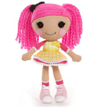 (4 color) 1 piece 30cm Soft  Lalaloopsy stuffed dolls Girl's Playhouse Toys Lalaloopsy Magic Hair plush toys dolls