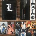 54 pcs/set Death Note Action Figures Collection Poker Cards Color Box Packing Kid Gift Toy
