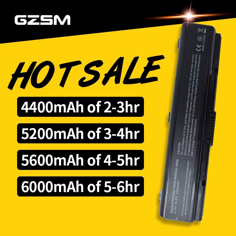 HSW Battery For TOSHIBA PA3533U-1BRS PA3533U-1BAS PA3534U-1BAS PA3534U-1BRS PA3535U-1BAS PA3535U-1BRS PABAS098 PABAS099 Bateria
