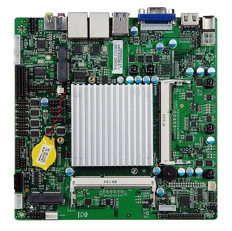 J1900 (2.0GHz, 10W, Quad Core) MINI-ITX embedded motherboard, 1*GLAN ,2*RS232, 8 x USB2.0, VGA, HDMI m945m2 945gm 479 motherboard 4com serial board cm1 2 g mini itx industrial motherboard 100