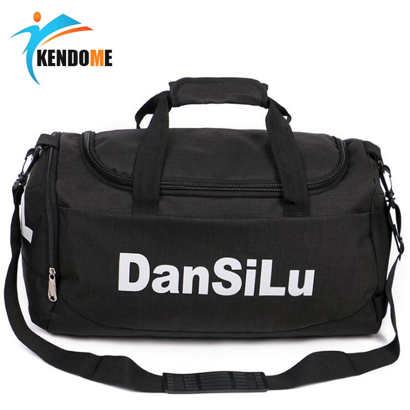 5bcfd439f03 Hot Big Capacity Training Gym Bag Waterproof Sports Duffels Bags Fitness  Bags Multifunction Shoulder Travel Handbag