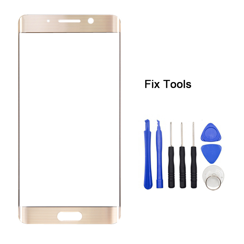 LOVAIN 1PCS Genuine Original Black White For Huawei Mate9 Mate 9 Pro Front Glass Lens 5